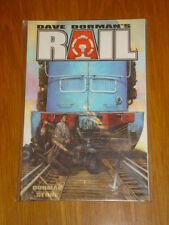 RAIL BROKEN THINGS IMAGE COMICS DAVE DORMAN GRAPHIC NOVEL 9781582402291