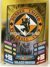 Match Attax 2012/13 SPL - Scottish Premier League - #055 Dundee United Club Card