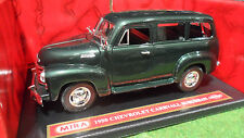 CHEVROLET CARRYALL SUBURBAN 1950 vrt 1/18 MIRA 6238 voiture miniature collection