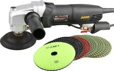 "DAMO Variable Speed Polisher 5"" Wet Polishing Kit Granite/Concrete Countertop"