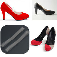 2 Pairs Clear Invisible High Heel Loose Shoe Straps Platform Wedge Pumps Insoles