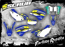 SCRUB Husaberg graphics decals kit FE 390-450-570 2009 - 2012 stickers '09-'12