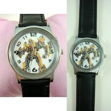 NEW Transformers Bumblebee Boy Child Quartz Wrist Watch Wristwatch