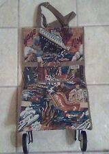 Jade Hand Bag / Tote Bag with wheels Tapestry Animal Print Style T 0326