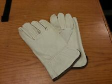 LOT OF12 PAIR TRUCK DRIVERS GLOVE GRAIN COWHIDE LARGE WORK GLOVE G4720-L