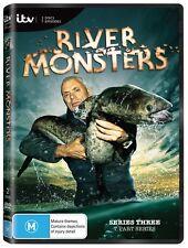 River Monsters: Season 3 DVD Region 4 Jeremy Wade New & Sealed