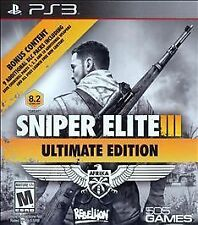 Sniper Elite III -- Ultimate Edition (Sony PlayStation 3, 2015)