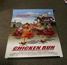 CHICKEN RUN - ROLLED ORIGINAL 1-Sheet 27x40 MOVIE FILM Poster 2000