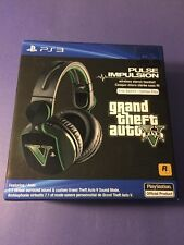 Sony Pulse Impulsion Wireless Headset Elite Grand Theft Auto V Special Edition