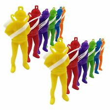 Boys 12 Pcs Pocket Parachute Men Action Figure Toys Party Bag Stocking Filler