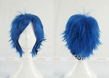 New! Fashion Short layered loveless Anime Cosplay Wig Party Wig + Free wig cap