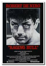 Vintage Style Raging Bull Robert De Niro 24x16inch Old Movie Silk Poster