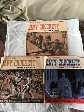 Vintage Davy Crockett Goes to Congress,Indian Fighter,at The Alamo 78 LP Vinyl