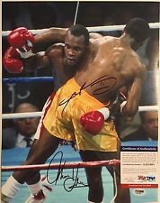 Sugar Ray Leonard & Thomas Hearns Autographed 11X14 Photo 1 PSA/DNA COA