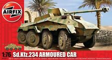 Airfix 1/76nd Scale WWII SD KFZ.234 Armored Car Plastic Model Kit