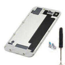 White Replacement Battery Cover Back Door Rear Glass For iPhone 4S A1387+ Tools