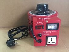 5 Amp Variac Variable Transformer 1000VA Max  0-240 AC Volt Output regulator New