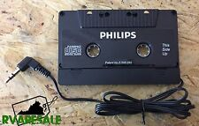Philips Audio Car Cassette Tape Adapter 3.5 MM For iPhone Ipod Samsung MP3 AUX