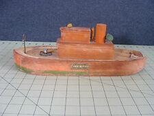 VINTAGE WOOD KEYSTONE FIRE BOAT