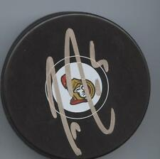 CODY CECI SIGNED OTTAWA SENATORS HOCKEY PUCK w/ COA