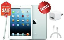 NEW Apple iPad mini 1st Gen 16GB, Wi-Fi + 4G (Unlocked), 7.9in - White & Silver