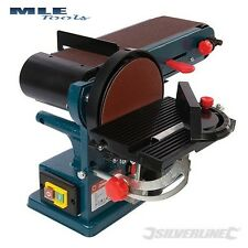 Silverline Silverstorm 350W Bench Belt & Disc Sander 390mm woodwork 972660