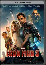 Iron Man 3 (DVD, 2013) Marvel - Robert Downey Jr. Gwyneth Paltrow