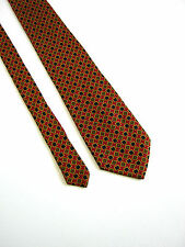 CERRUTI 1881 Cravatta Tie MADE IN FRANCE Originale 100% SILK