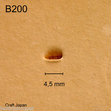 Punziereisen, Lederstempel, Punzierstempel, Leather Stamp, B200 - Craft Japan