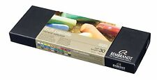 Talens Rembrandt Soft Pastels, 30 Half Stick Set general selection