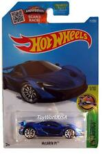 2016 Hot Wheels #71 HW Exotics McLaren P1 blue