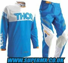 2016 Thor Phase Hyperion Motocross Kit Combo - Blue 40/XXL