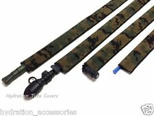 USMC MARPAT Woodland Digital DSCP military hydration pack drink tube cover