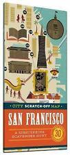 City Scratch-Off Map: San Francisco: A Sightseeing Scavenger Hunt, de Tessan, Ch