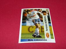FERNANDO MORIENTES REAL ZARAGOZA PANINI LIGA 96-97 ESPANA 1996-1997 FOOTBALL