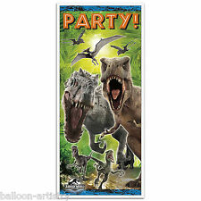 5ft Jurassic World Park Children's Birthday Party Door Poster Banner Decoration
