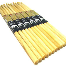6 Pair Drum Sticks High Quality Maple Wood Tip Drumsticks 5B Percussion Sticks