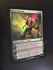 MTG MAGIC CARTE PROMO FOIL NISSA REVANE DUELS OF THE PLANEWALKERS 2010 PC GERMAN