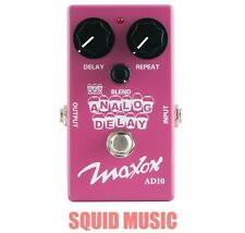 Maxon AD10 Analog Delay  Pedal Compact Series ( FREE WORLDWIDE SHIPPING )