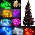 Xmas Tree 8.5M 220V 100LED Fairy Party String Bulb Light Flash Christmas Wedding