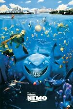DISNEY - FINDING NEMO CAST MOVIE POSTER Pixar NEW PRINT