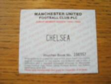17/04/1995 Ticket: Manchester United v Chelsea [Junior Season Ticket Voucher Spe