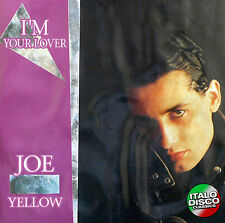 Italo DIsco CD Joe Yellow I'm Your Lover