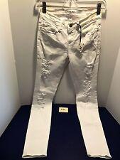 White FRAME Denim Le Skinny de Jeanne Destroyed 25 Stretch D35