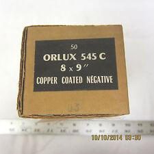 """Orlux Lorraine Negative 8mm x 9"""" Carbon Arc Rods 50pc"""
