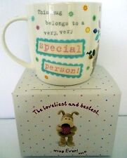 """""""BOOFLE"""" CHINA MUG """"VERY SPECIAL PERSON! XXX"""" GIFT BOXED LOVELY CHRISTMAS GIFT"""