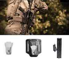 Airsoft Waffen Frontgriff Weapon link Retention Molle Tragesystem Holster TAN