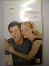 WHAT WOMEN WANT [2000] VHS – Romantic Comedy: Mel Gibson, Helen Hunt