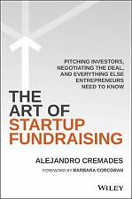 The Art of Startup Fundraising by Alejandro Cremades (2016, Hardcover)