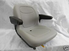 GRAY SEAT FOLD UP ARM RESTS,GRAVELY,ARIENS,BOBCAT,BUNTON,COUNTRY CLIPPER ZTR #JB